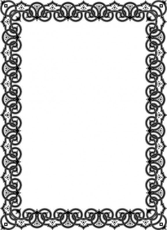 border-505_b line art