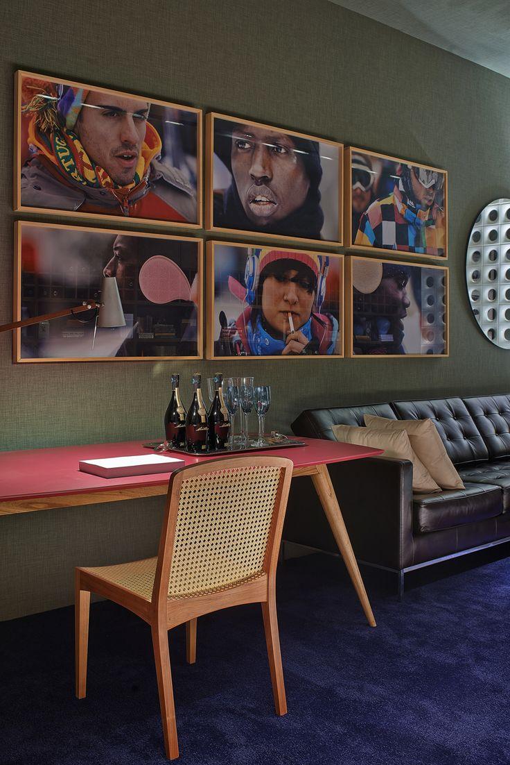 Decoração de: Detalhes; mesa de madeira retrô; Casa de Valentina