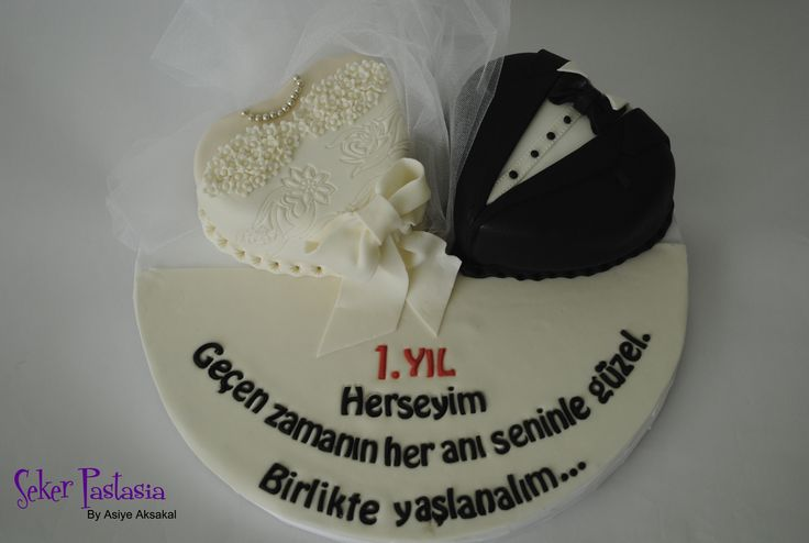 Gözde ♥ Eşi 1.dönümü Pasta