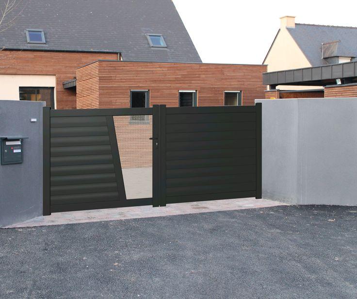 Les 25 meilleures id es concernant portail aluminium for Portail jardin alu