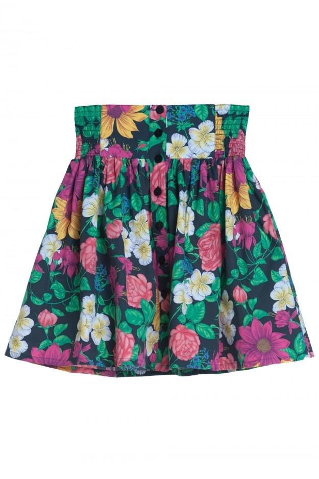 Monki Flower skirt