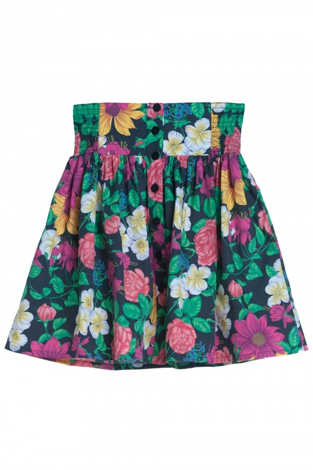 Monki Flower skirt