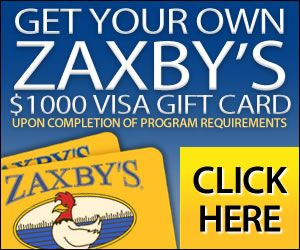 Free Zaxbys Gift Card http://azfreebies.net/free-zaxbys-gift-card/