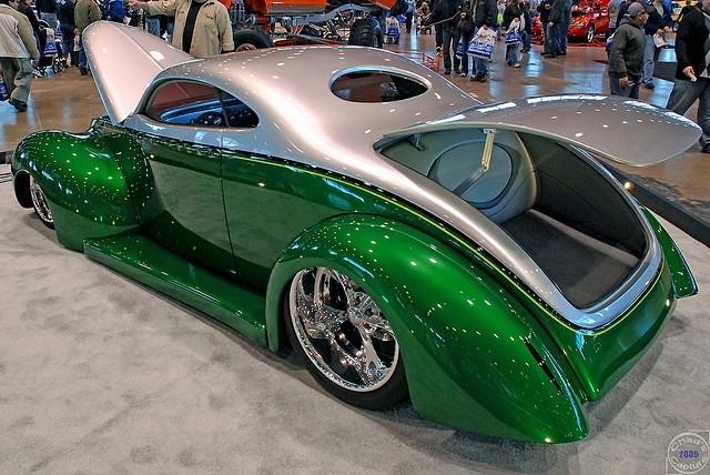 Custom chopped 1940 Ford Coupe