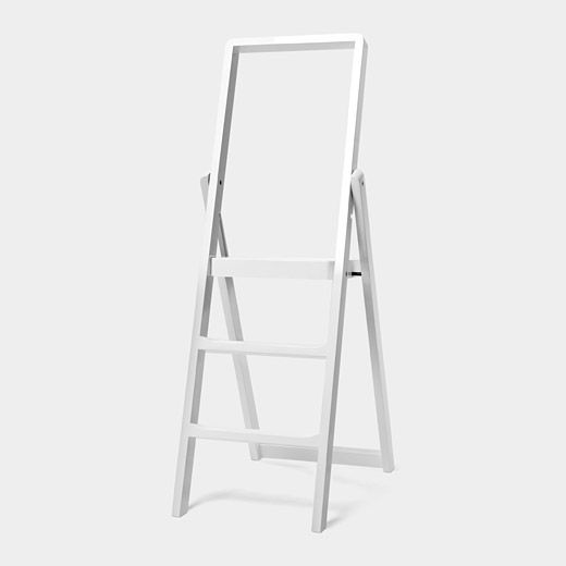 Glad it took a world-renowned designer to create a simple step ladder that isn't a giant piece of ugly. It can be yours for only $295! Hope it lasts...