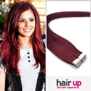 39 best hair extensions images on pinterest hair beauty braids 18 inch 20 pcs tape in human hair extensions bug 20 pieces set40g weight full head straight by hairup 6695 texturestraight remy human hairpo box pmusecretfo Choice Image
