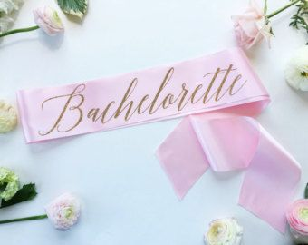Bachelorette sash - Bachelorette party Sash - bride to be sash - miss to mrs sash - future mrs sash - personalized sash - party accessory
