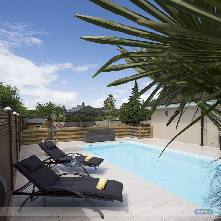 Wonderful summer time in Denmark... :-) #lifestyle #design #health #summer #relaxation #architecture #pooldesign #gardendesign #pool #swimmingpool #pools #swimmingpools #niveko #nivekopools