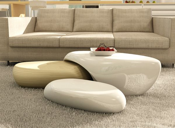 L'ithos coffee tables by Irina Alexandru/ AIRA design studio , via Behance