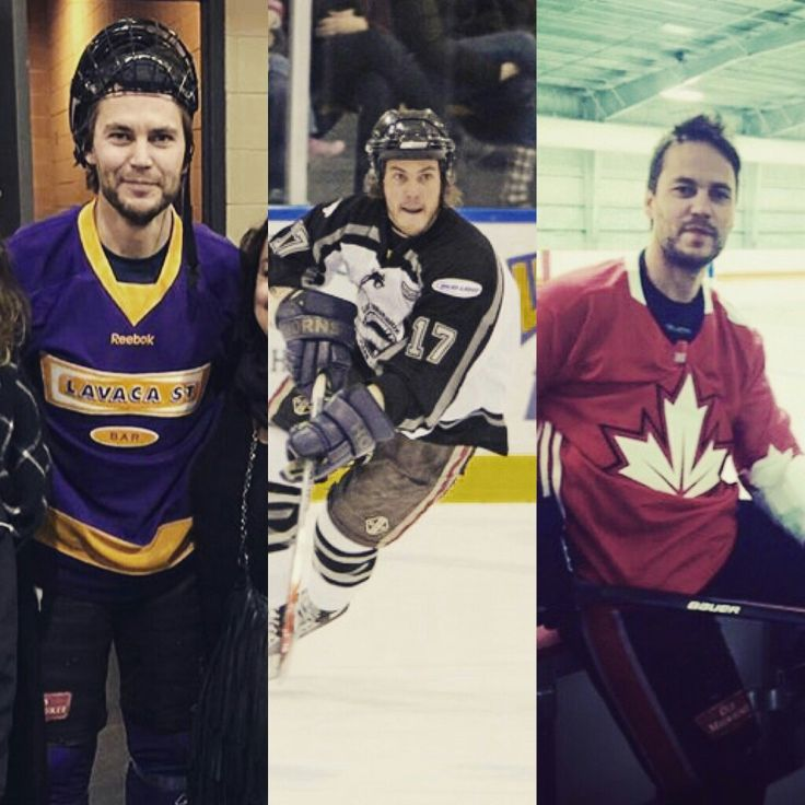 Taylor Kitsch and Hockey - events
