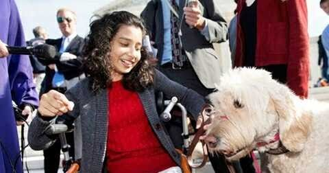 13-year-old Girl Wins Supreme Court Decision as She Fights to Bring Her Service Dog to School