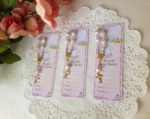 Made in Italy Set if 24 Rememberence Baptism card with mini Rosary misterio recuerdo de mi Bautizo Spanish