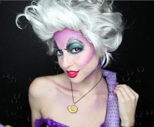 Úrsula makeup tutorial                                                                                                                                                                                 More