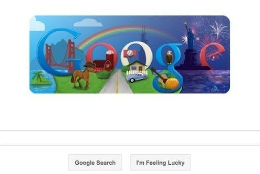 The always changing Google logo can make anyone's day :)
