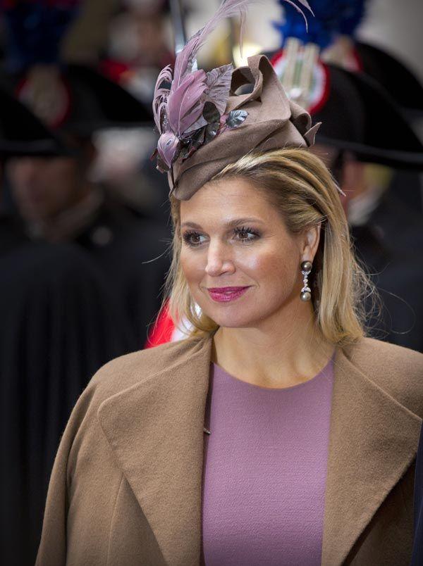 Máxima de Holanda dio una lección de profesionalidad, simpatía y elegancia en su breve visita oficial a Italia junto a su marido