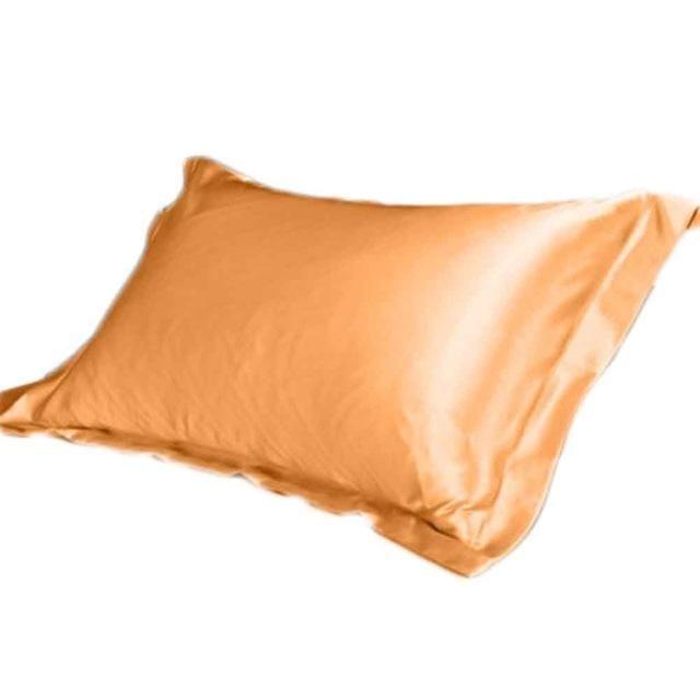 Silk Vs Satin Pillowcase Double Face Envelope Emulation Silk Satin Pillowcase Single Pillow