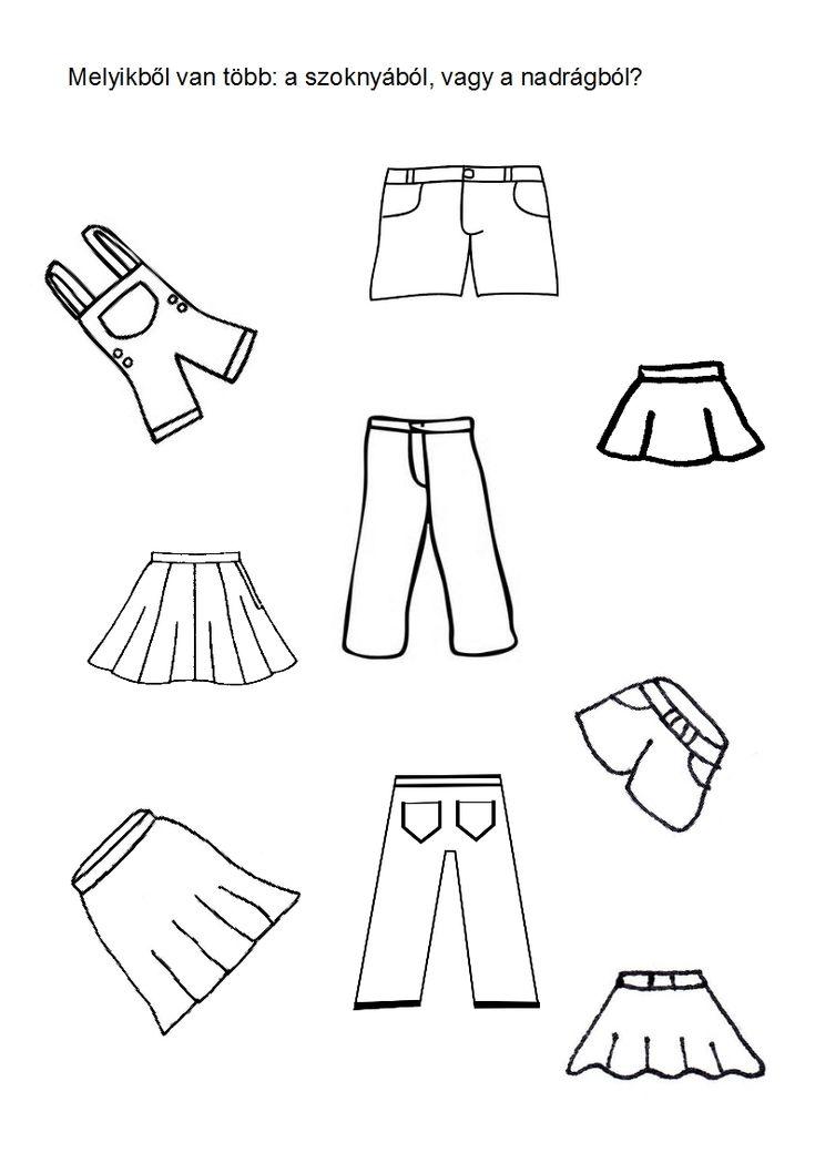 öltözködés - számlálás