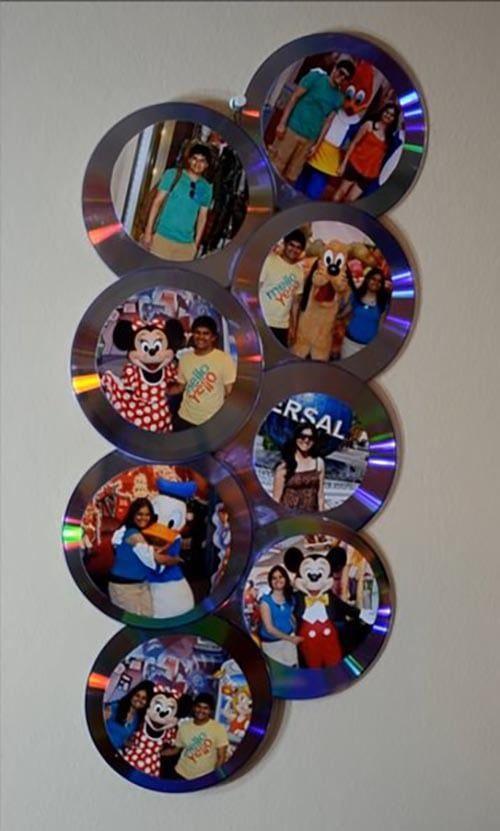 фоторамка из компакт дисков своими руками палантин просто