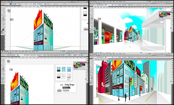 """Do you want to learn how to create drawings in perspective in Adobe Illustrator CS6? Don't miss the exercise 066 of our book """"Learning Illustrator CS6 with 100 practical exercises"""": www.mcb-press.com/"""