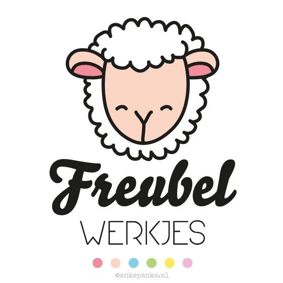 Logo design for Freubelwerkjes (handmade crochet products webshop) by http://ankepanke.nl