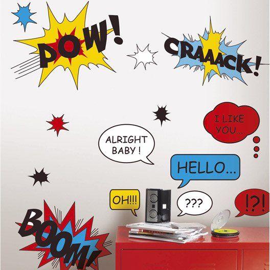 Sticker Comic, 47 x 67 cm