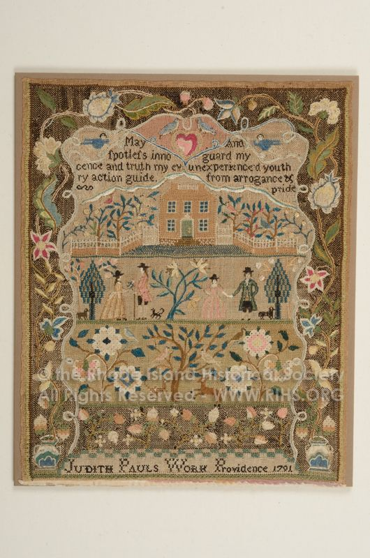 The Rhode Island Historical Society - Judith Paul 1791