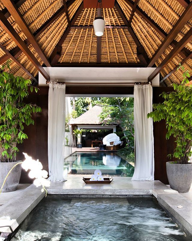 Jacuzzi or swimming pool? or both? just come over to #kayumanisnusadua, #Bali and experience yourself.  #KayumanisExperience