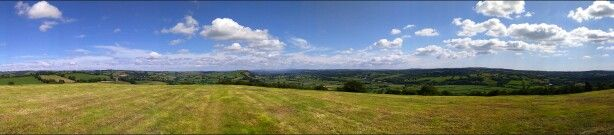 View from merlins hill