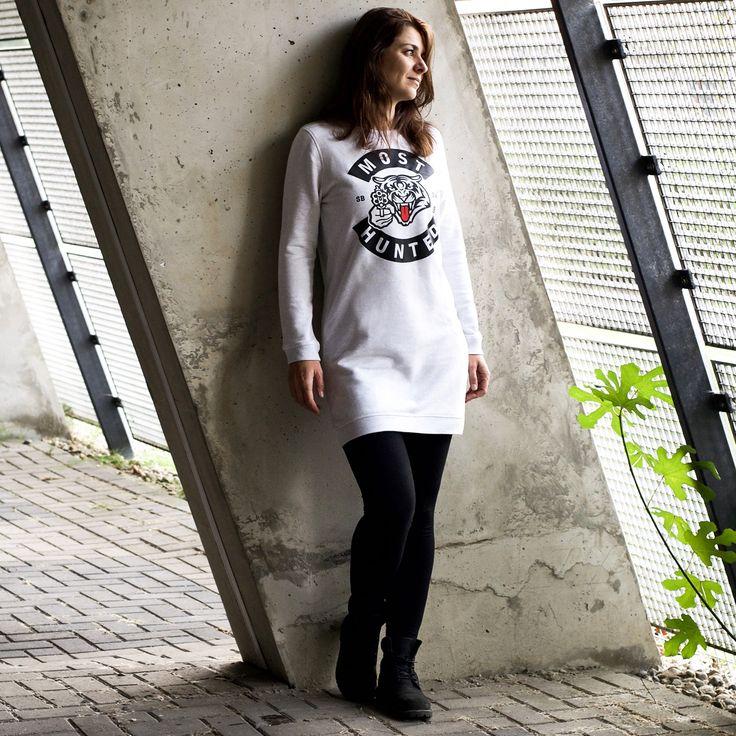 Ready for a fresh look in 2018? Order your light grey sweat dress now at mosthunted.com #freshstart #makeastatement #shootback #savewildlife #mosthunted #sweatdress #lightgrey #streetstyle #streetwear #favoritedress #fashionwithapurpose #awarenessfashion #endextinction #dogood #dosomething #dressforsucces #jointhepack mosthunted.com #beastlygoodstreetwear