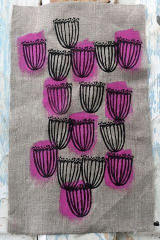 52 Weeks of Printmaking: Week 6 | Jen Hewett, illustrator, print maker, textile designer. | Bloglovin