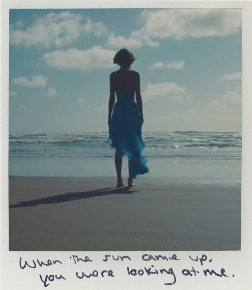 Out of the Woods Polaroid | 1989