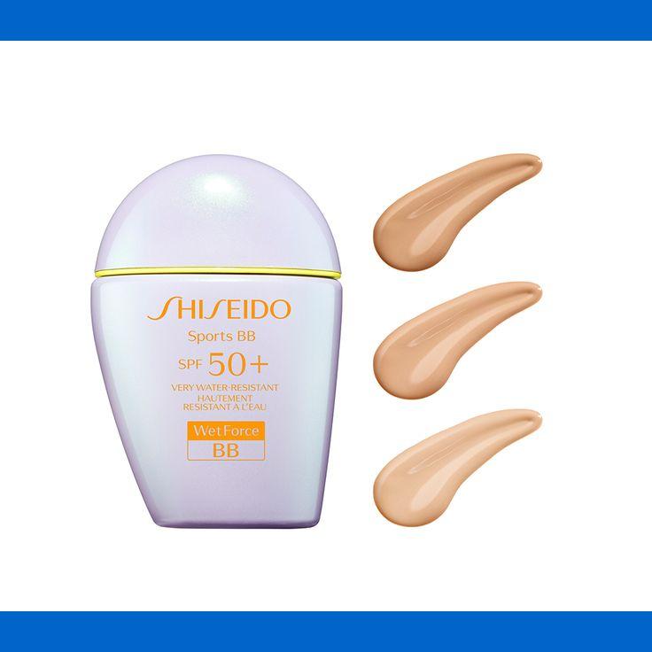 È arrivato Shiseido Sports BB! Il giusto compromesso tra make up e protezione per una pelle impeccabile durante l'allenamento all'aria aperta! #Wetforce