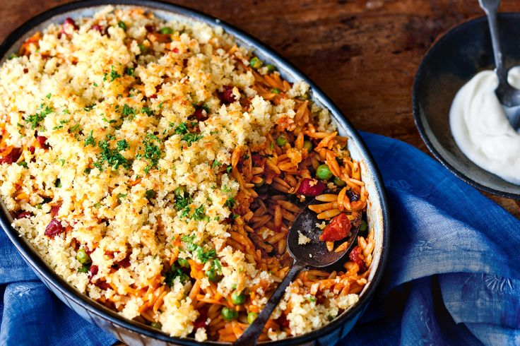 Chorizo, pasta and crispy breadcrumbs? Enough said. This is great for lunch the next day, too - if you can resist eating it all.
