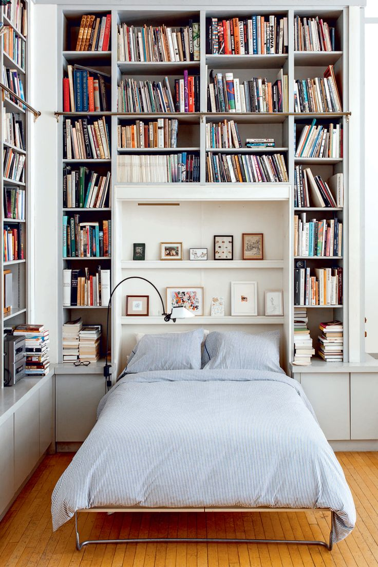 Illustrator Joana Avillez S Apartment Is A Book Lover S Dream Murphy Bed Bookcase Home Home