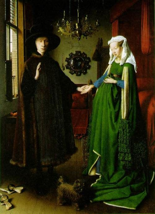 Arnolfini Wedding Portrait - Jan van Eych