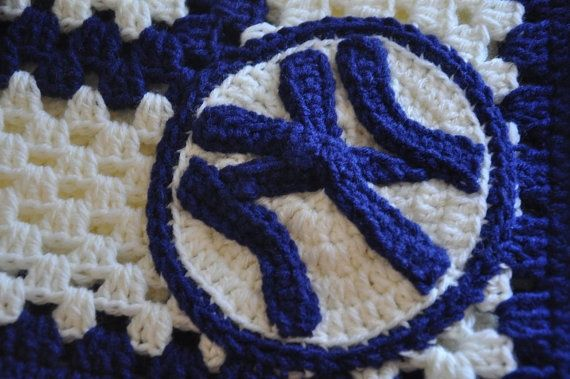 Free Crochet New York Yankees Baby Blanket Pattern New