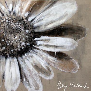 """Saatchi+Art+Artist+Yuliya+Vladkovska;+Painting,+""""white+sun""""+#art"""