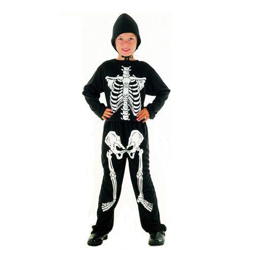 Lovely Boys Skeleton Costume