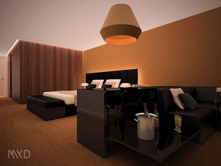 HOTEL ADEF Algeria . Argélia \ 3D visualization \ Hotel Room Model \ MYD DESIGN STUDIO   #designdeinteriores #hotelroom #minimalist #3dvisualization #bedroom #contemporary #designspaces #design #interiores