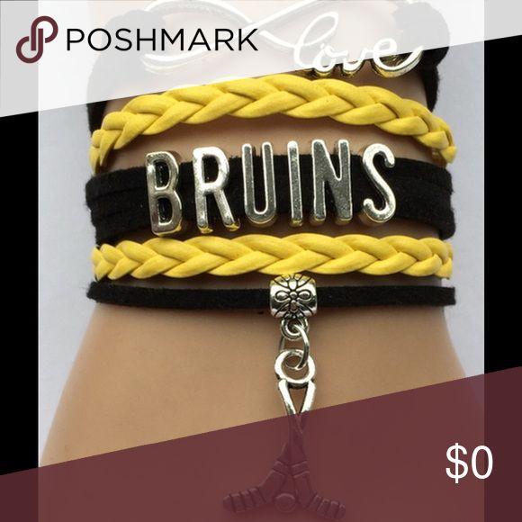 Boston Bruins Hockey bracelet Adjustable Jewelry Bracelets