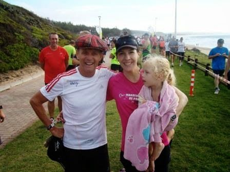 Running the Race: Perfect Timing... {Hartenbos parkrun}