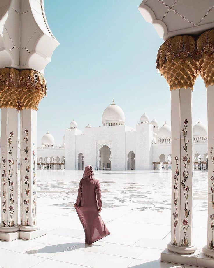 Sheikh Zayed Mosque Abu Dhabi Uae Follow Travel For More Travel