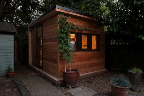10 Private, tranquil and spectacular garden shed offices