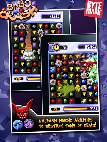 Babo Crash is yet another fun puzzler. I like the music in this one plus the unique characters that help clear the shapes.