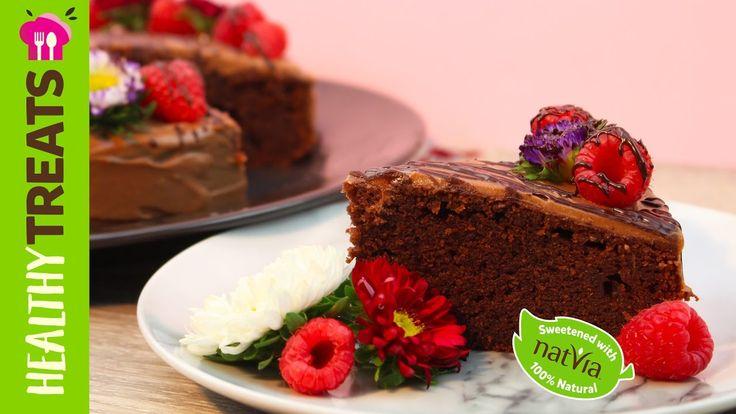 #Simple #Chocolate #Cake - #Sugafree chocolate cake by #Natvia