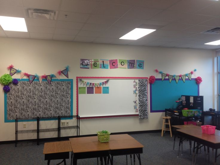 Middle School Reading Classroom Decorating Ideas