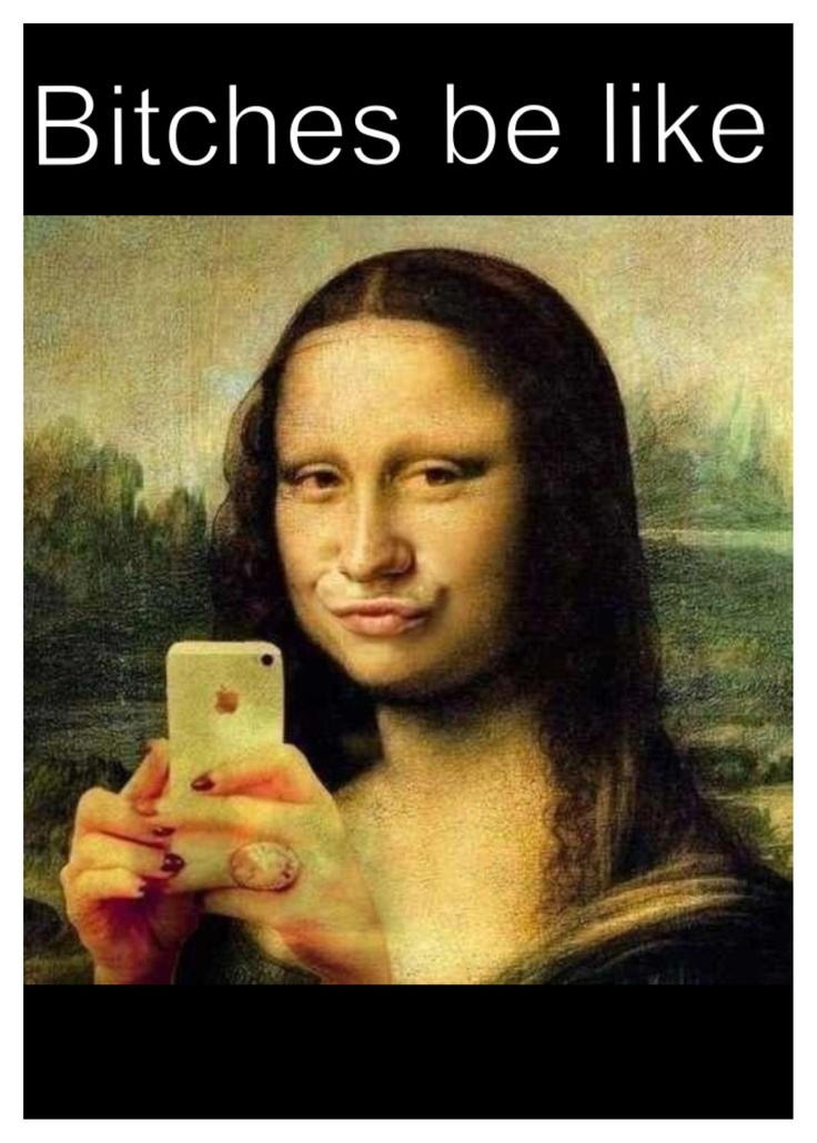 Bitches be like.... ~ all they do is show off their iphones, YOU HAVE A FRONT FACING CAMERA!!!