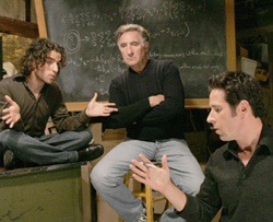 Numb3rs starring  Rob Morrow, David Krumholtz, Judd Hirsch. The writers on this show were amazing. Especially when dealing with family issues.