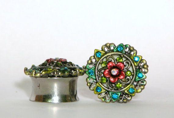 crystal flower gauges