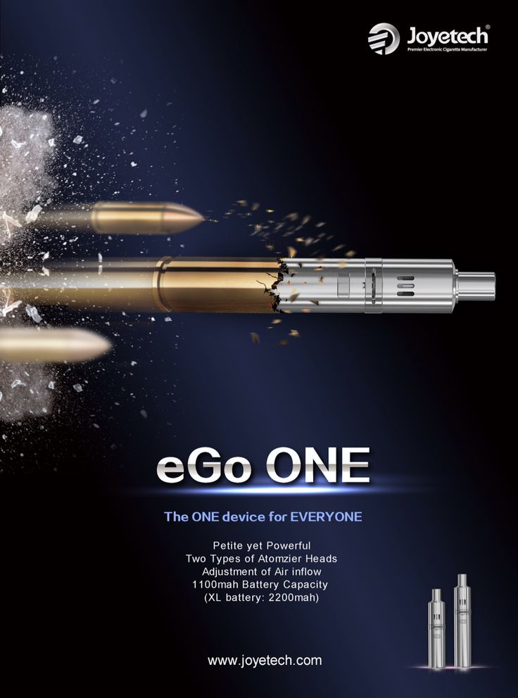 eGo ONE www.vapeon.eu #vapeon